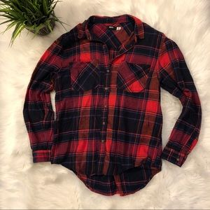 BDG Flannel button down shirt size small